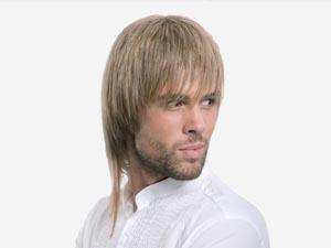 Male hair cutting